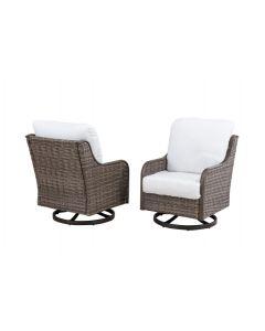Windsor Deep Swivel Chair 2Pk(Bare)