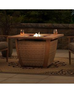 AmberCove Propane Burning Firepit Table