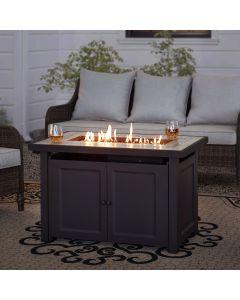 Sunjoy Rectangular Propane Burning Firepit Table